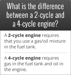 2-cycle vs 4-cycle engine