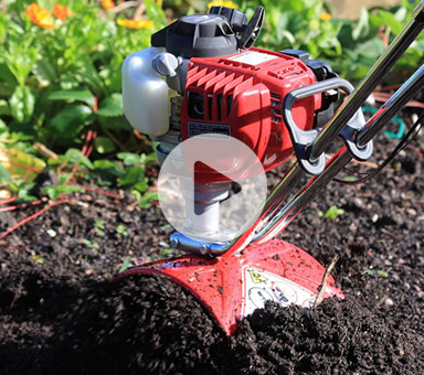 See the Mantis Tiller in Action