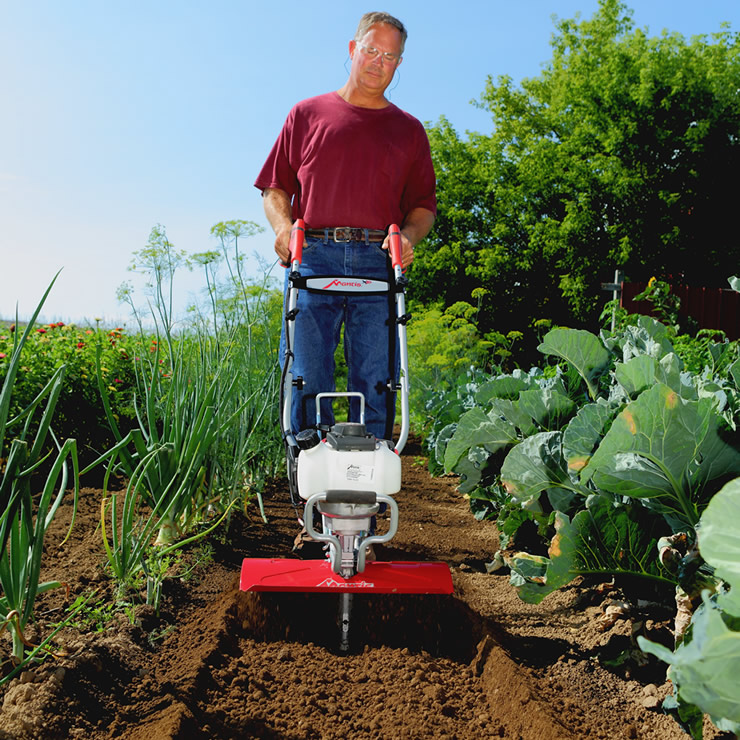 Mantis® XP Extra-Wide 4-Cycle Tiller/Cultivator