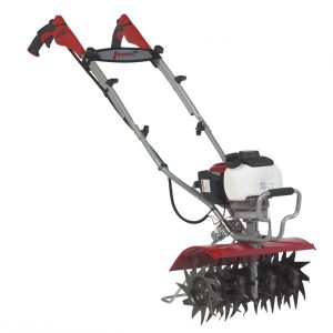 Mantis XP wide tiller facing left