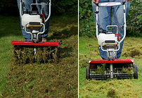 Lawn Aerator/Lawn Dethatcher Attachment Combination (XP Tiller Models)