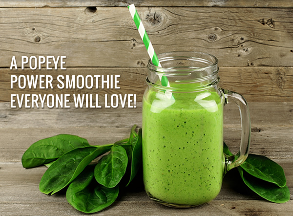 Spinach Pineapple Mango Smoothie