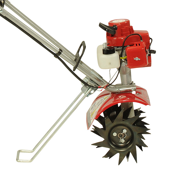 Mantis 2-Cycle Plus Tiller/Cultivator with kickstand