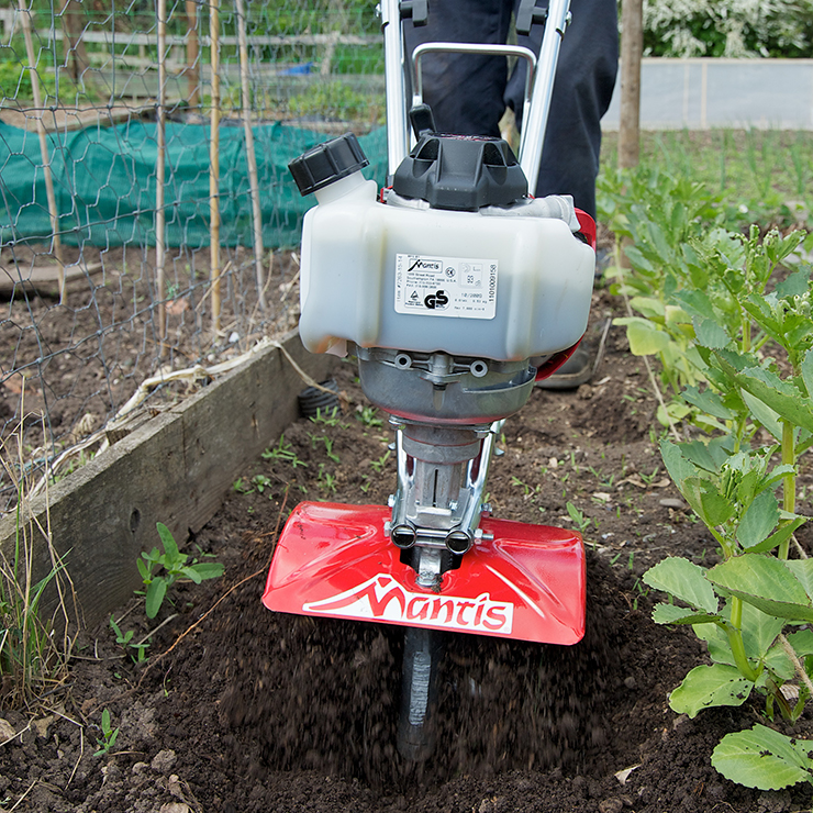 Mantis 4-Cycle Classic Tiller Powered by Honda®