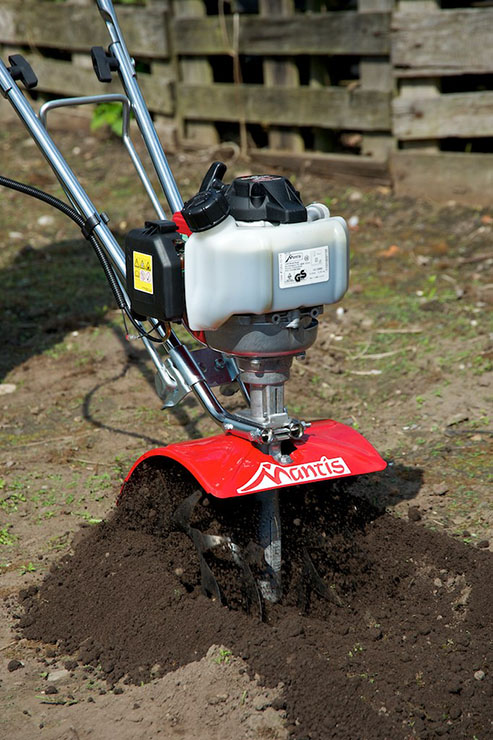 Mantis 4-Cycle Classic Tiller Powered by Honda® | Mantis Garden Tools