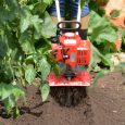 Planter/Furrower Attachment digging closeup