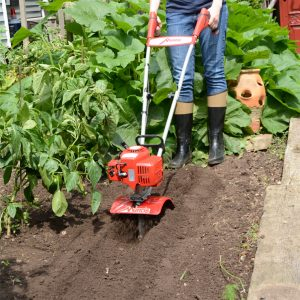Planter/Furrower Attachment creates furrows