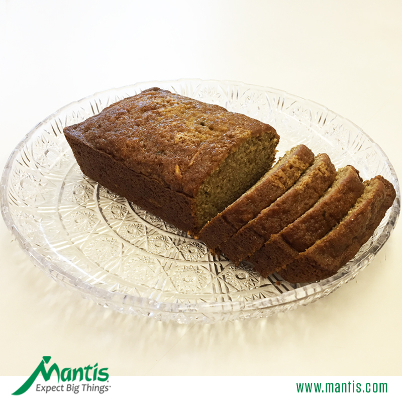 Zucchini Bread Recipe Mantis Garden Tools