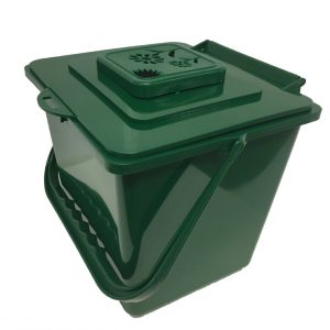 Composting Kitchentop Container CTKC1000 side view