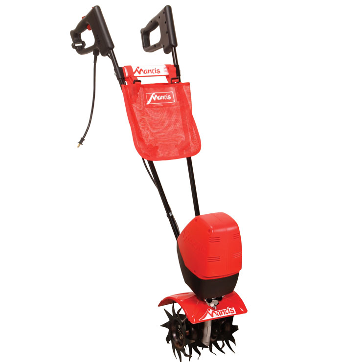 Mesh Debris Bag 1822 with electric tiller