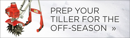 Prep Your Tiller for the Off-Season