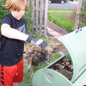 Composting for kids teaches science