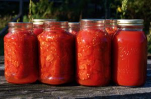 Garden Idea Canned Tomatoes