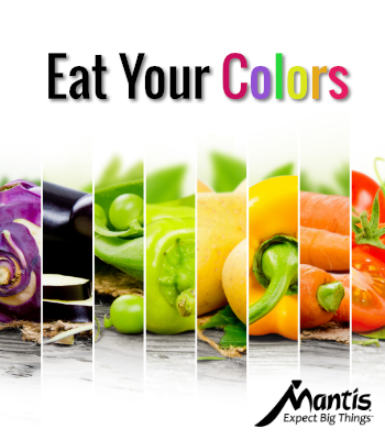 Vegetable Colors for Healthy Eating