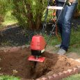 Mantis Electric Tiller digs deep and fast