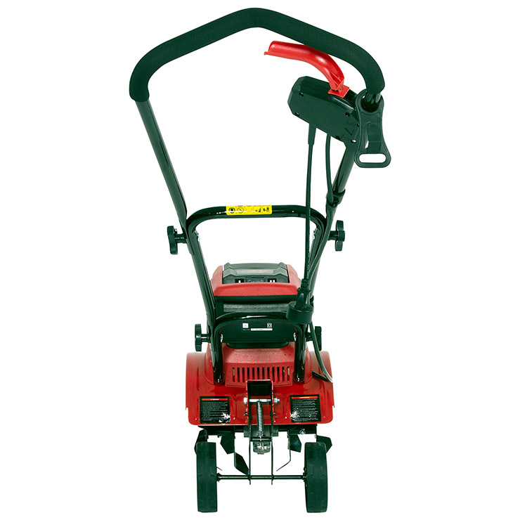 Mantis Electric Tiller 3550 rear view