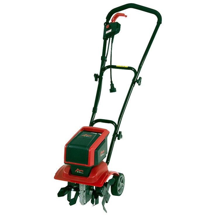 Mantis Electric Tiller Cultivator 3550 facing left