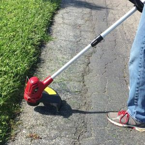 Cordless String Trimmer cutting edge