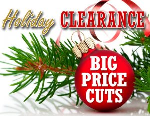 Holiday Clearance Big Price Cuts